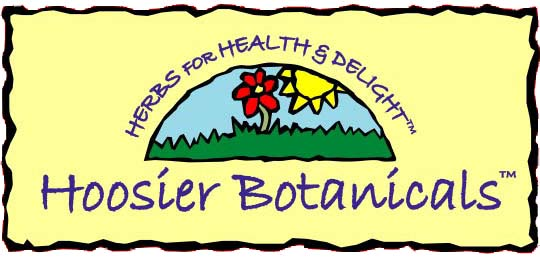 hoosier botanicals, herbs for health and delight