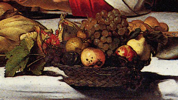 caravaggio basket of fruit